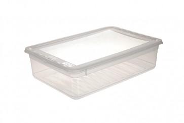 Plastový box Basixx 11 l, priehľadný.