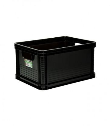 Plastový box Robusto 20 l, grafit, 40x30x22 cm