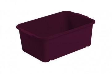 Plastový box Magic, malý, fialový, 25x17x10 cm