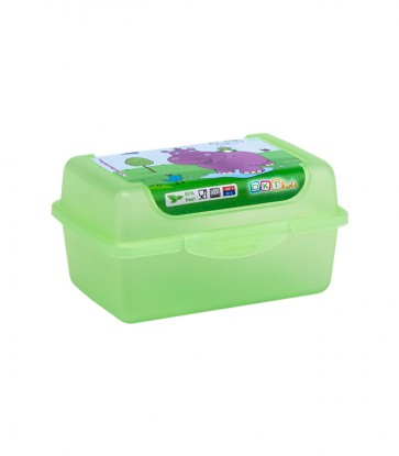 """Plastový box Deco """"Hippo micro"""" - 0,35l, 11 x 7,5 x 6 cm - POSLEDNÉ 3 KS"""