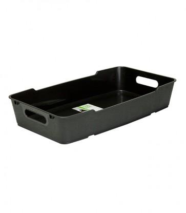 Plastový box LOFT 5,5 l, grafit, 40x22x7 cm - POSLEDNÝCH 11 KS