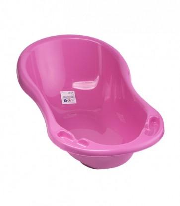 Detská vanička vo svetlo ružovej farbe o rozmeroch - 100x51x31 cm