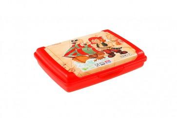 """Plastový box Deco """"Pirát mini"""" - 0,5l, 17x13x3,5 cm - POSLEDNÝCH 7 KS"""