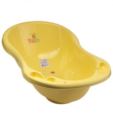 Detská vanička v žlto medovej farbe s motívom Macka Pú - 84x49x30 cm - POSLEDNÝCH 5 KS