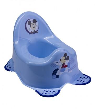 Detský nočník v modrom prevedení s motívom Mickey - 38x27x24 cm - POSLEDNÝCH 6 KS