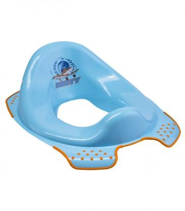 Sedátko na WC v modrej farbe s motívom Planes - 30x40x15 cm - POSLEDNÉ 3 KS