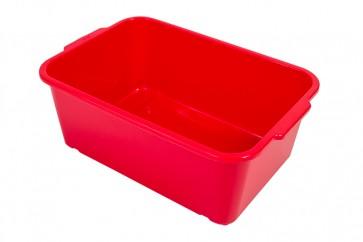 Plastový box Magic, malý, červený, 25x17x10 cm