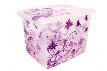 Plastový box Fashion, Romance, 39x29x27cm - POSLEDNÝCH 4 KS