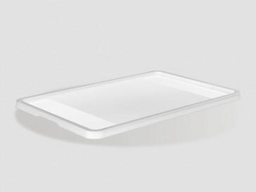Plastový vrchnák Eurobox 40x30 cm, priehľadný