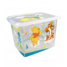 "Plastový box Fashion, ""Macko Pú"", 39x29x27cm"