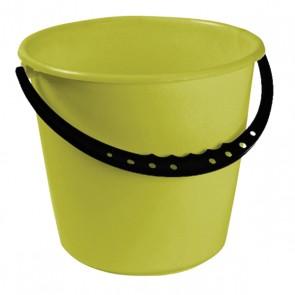 Vedro s plastovou rukoväťou, zelený, 10l - POSLEDNÝ KUS