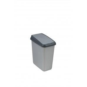 """Odpadkový kôš """"Slim-Bin"""" 10 l, strieborný"""