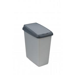 """Odpadkový kôš """"Slim-Bin"""" 25 l, strieborný"""