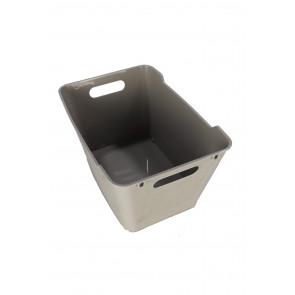 Plastový box LOFT 12 l, šedý, 35,5x23,5x20 cm