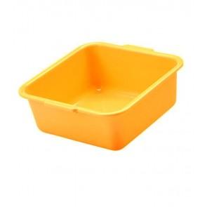 Hranatá miska, pomarančová, 38 x 38 x 16 cm - POSLEDNÉ 4 KS