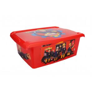 "Plastový box Fashion, ""Hasič Sam"", 39x29x14cm"