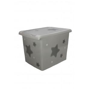 "Plastový box Fashion, ""Hviezda"", 39x29x27cm"
