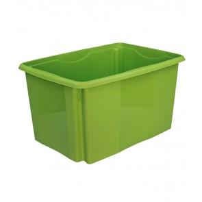 Plastový box Colours, 45 l, zelený, 55x39,5x29,5 cm - POSLEDNÝCH 49 KS
