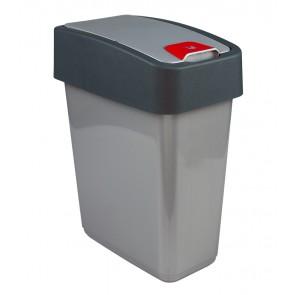 """Odpadkový kôš """"Magne"""" 25l, strieborný"""