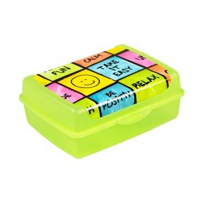 "Plastový box Deco ""Happy"" - 1l, 17x13x6,5 cm"