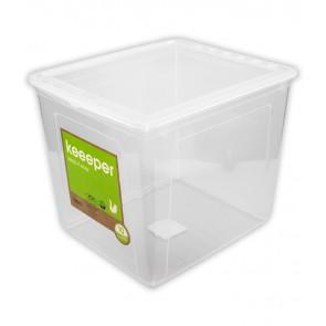 Plastový box Basixx 30l, priehľadný