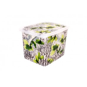 """Plastový box Fashion,  """"Spring"""", 39x29x27 cm. Objem 20,5 l - POSLEDNÝCH 8 KS"""