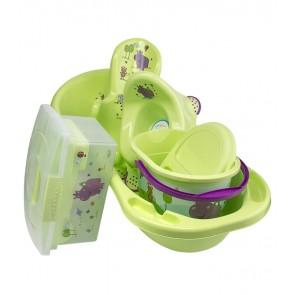 Veľká súprava Hippo, zelená