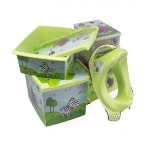 Súprava Hippo, zelená