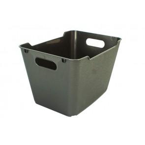 Plastový box LOFT 6 l, grafit, 29,5x19x15 cm POSLEDNÝCH 20 KS