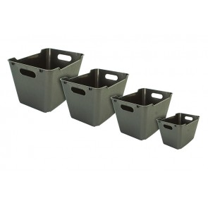 Plastový box LOFT 12 l, grafit, 35,5x23,5x20 cm - POSLEDNÝCH 39 KS