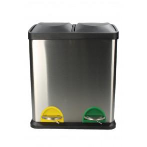 Nášľapný odpadkový kôš 2 X15 L