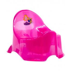"""Detský nočník """"Little Princess"""", svetlo ružový, 30x25x22 cm"""