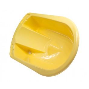 Anatomicky tvarovaná vanička v žlto medovej farbe - POSLEDNÝCH 9 KS