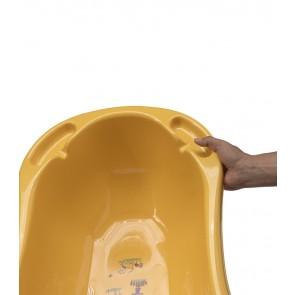 Detská vanička vo svetle oranžovej farbe s motívom Funny Farm - 100x51x31 cm - POSLEDNÝCH 7 KS
